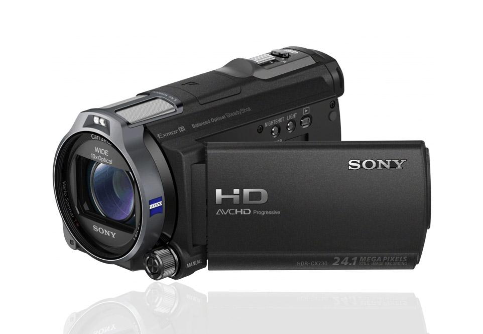 Filmdrohne SONY HDR-CX730E